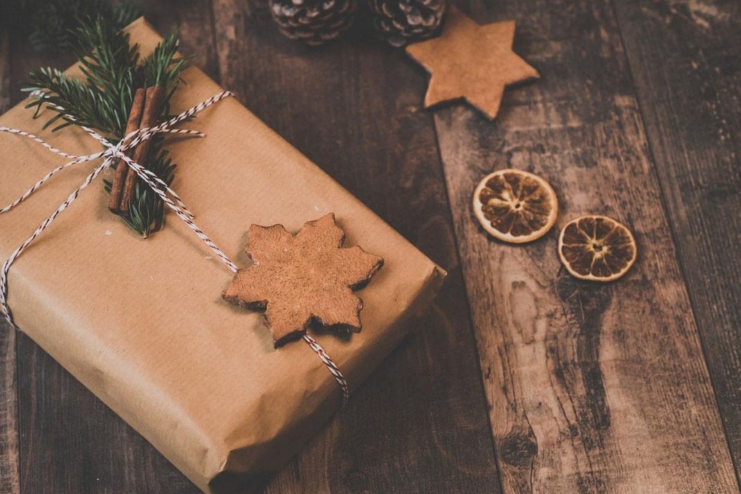 Nachhaltige, umweltfreundliche Geschenkverpackung