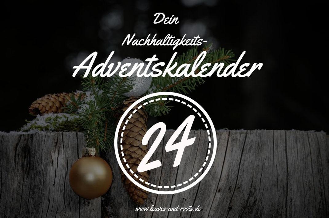 Nachhaltiger Adventskalender Türchen 24