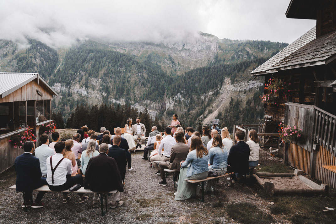 Freie Trauung Berghochzeit Eigenthal Kanton Luzern