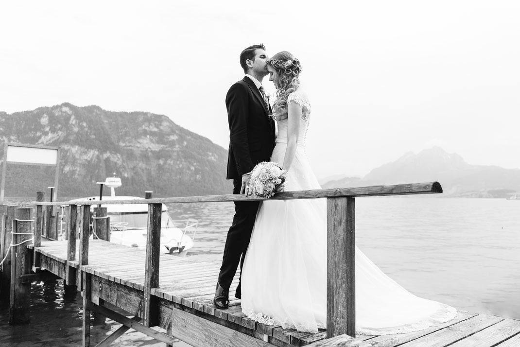Lake Lucern Wedding