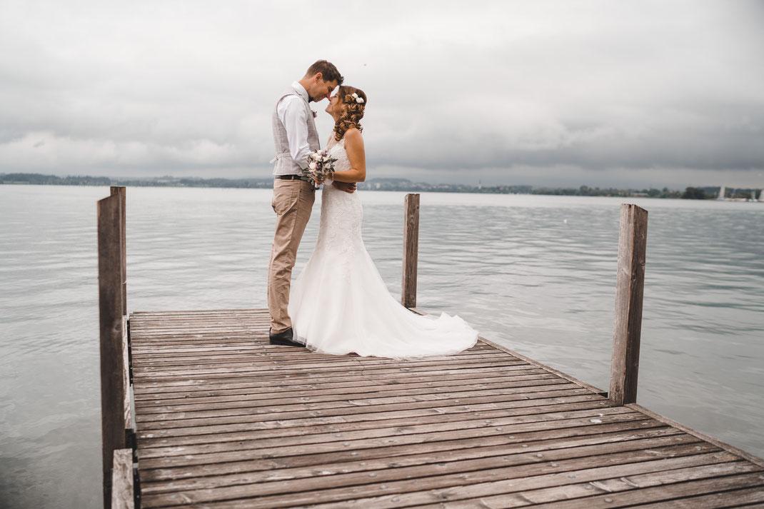 Hochzeitsfotos Zugersee