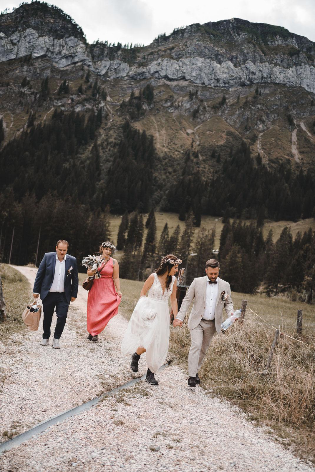 Wanderung Hochzeit Eigenthal Luzern