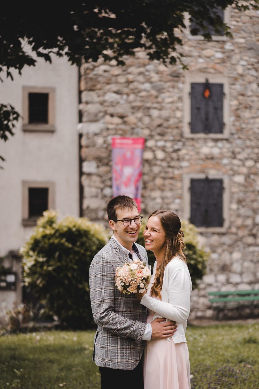 Hochzeit Archivturm auf der Metzghofstatt