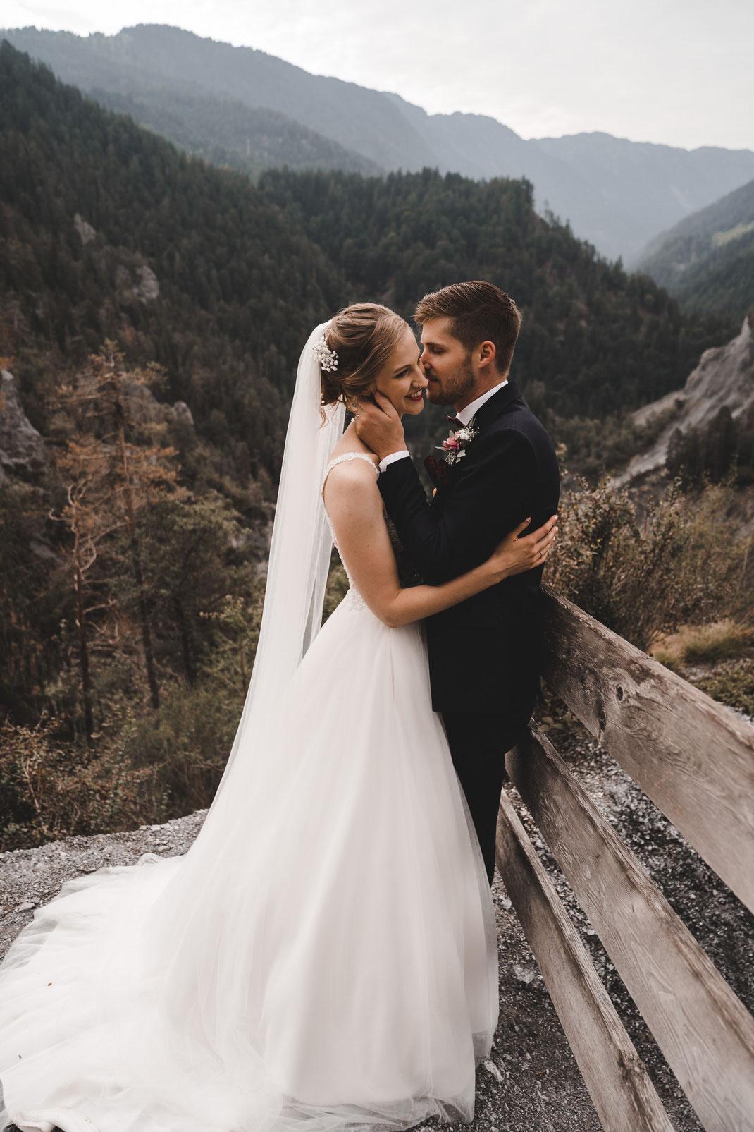 Hochzeit Laax Rheinschlucht