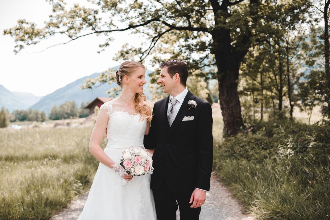Hochzeit spazieren gehen