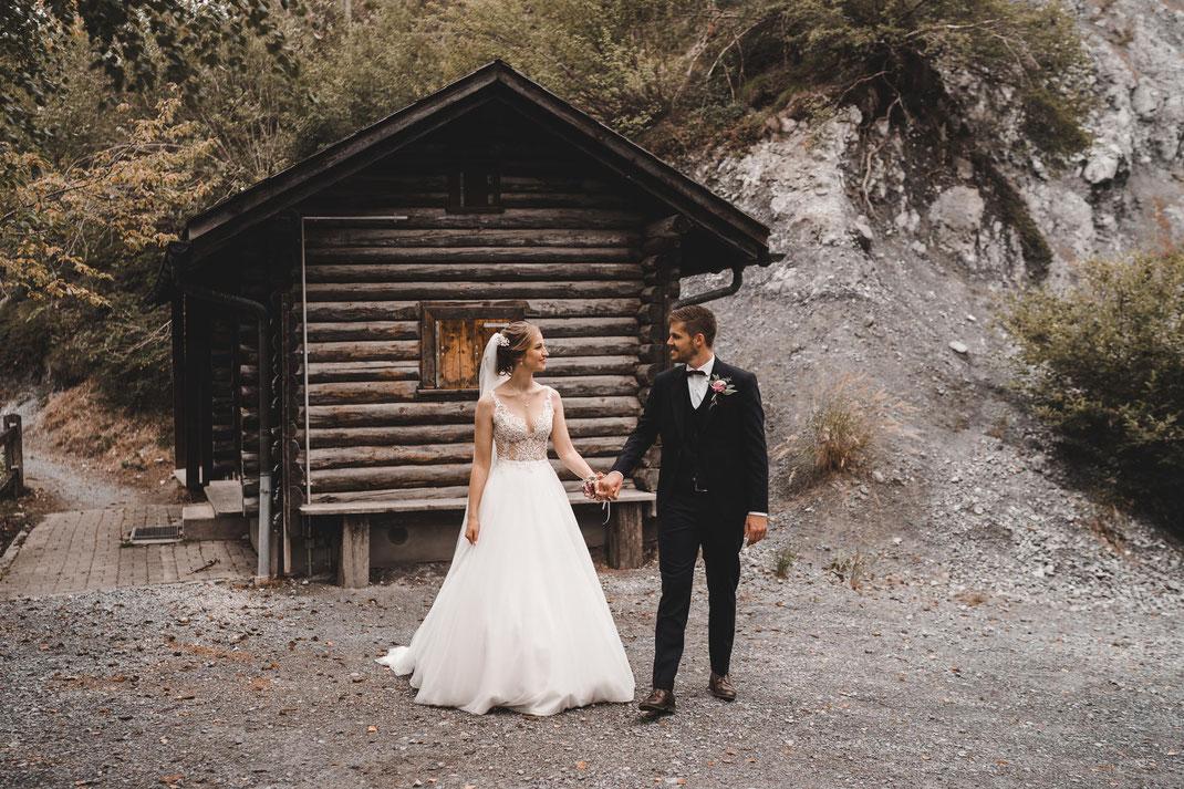 Hochzeit Rheinschlucht