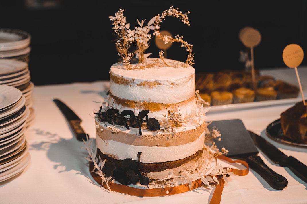Hochzeitstorte Luzern Südpol freie Trauung
