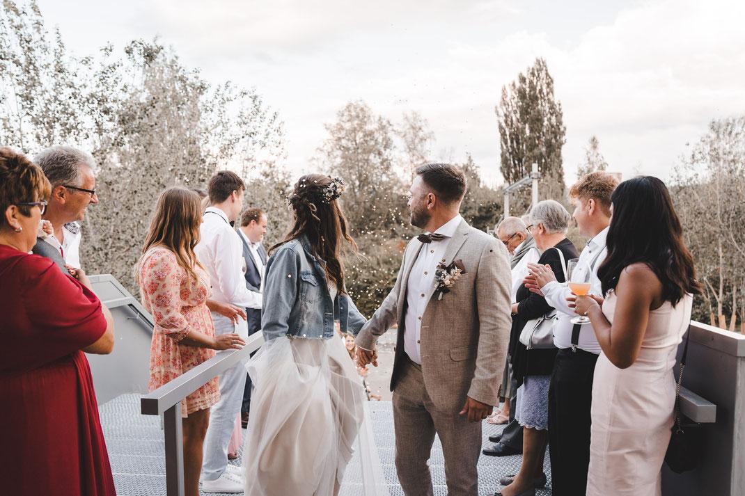 Einzug Brautpaar