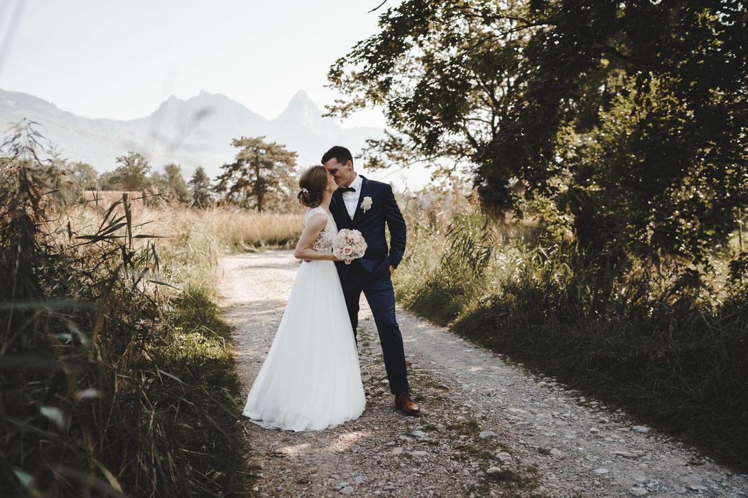 Hochzeitskuss Schwyz