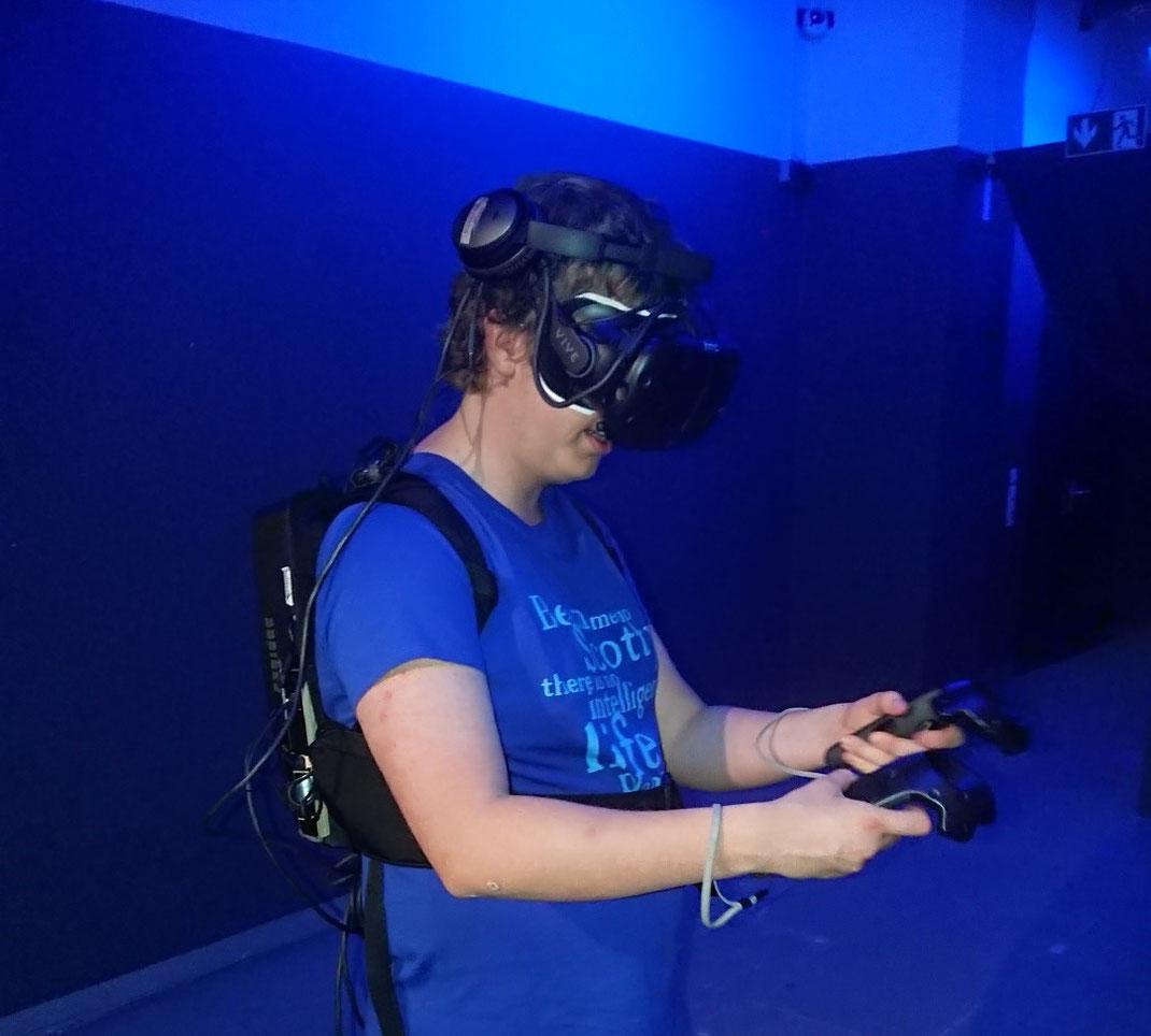 Severin Kämpfer interessiert sich für VR. ram reserved