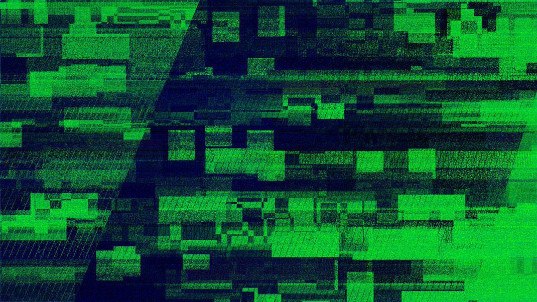 So könnte eine VR-Darstellung aussehen wenn es zu einem Chunk overlapping kommt.