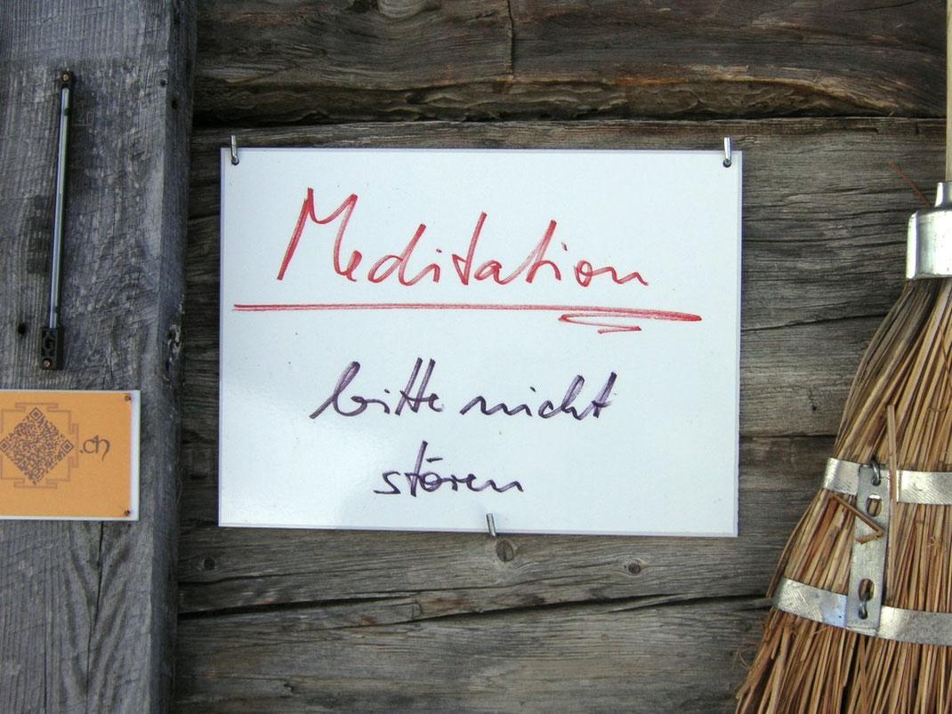 señal meditación