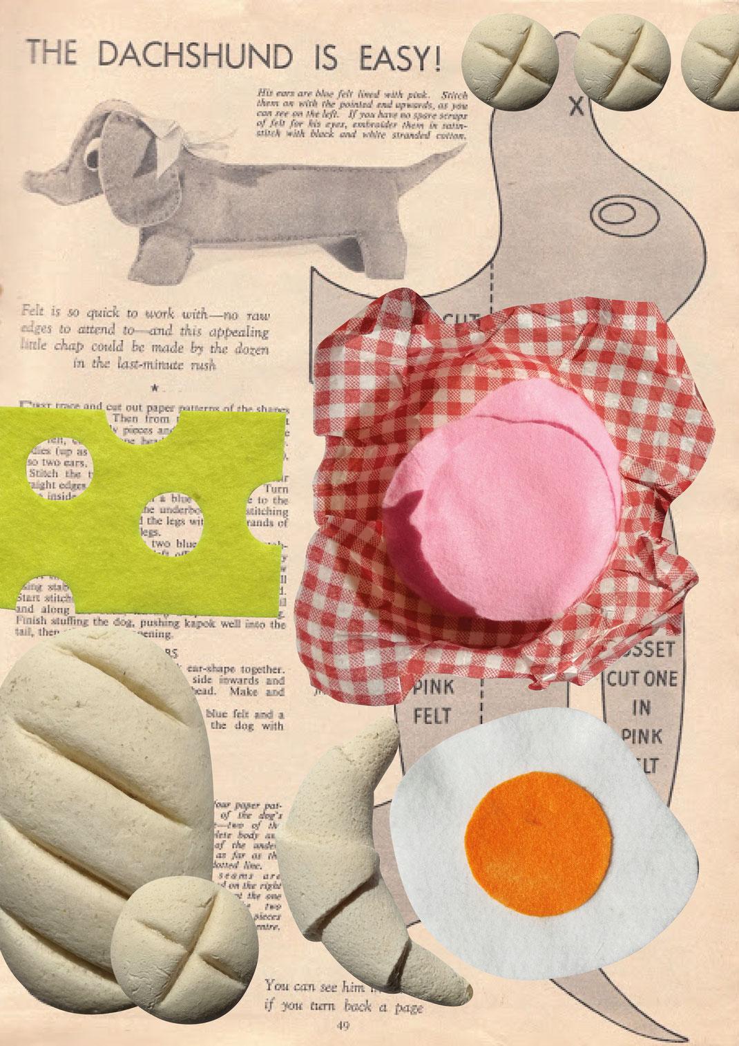 D.I.Y Kaufladen Zubehör einfach selbst gemacht, Kaufladen Zubehör aus Filz, Lollis, Bonbons, Eis, Obst, Gemüse, Käse, Wurst, Backwaren, Brot, Croissants, Zirkuskarten
