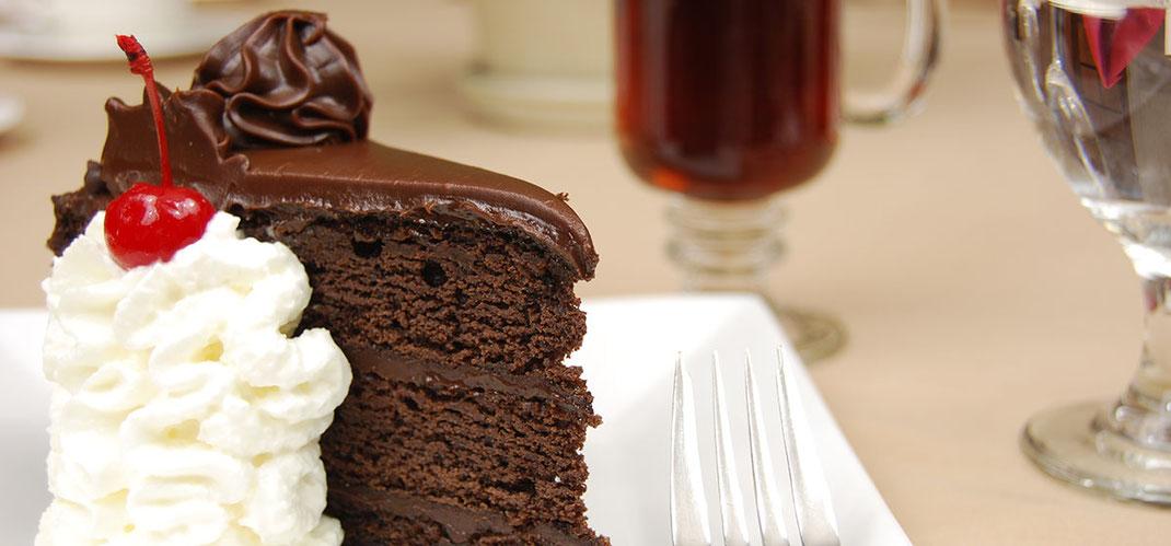 Chocoladetaart!