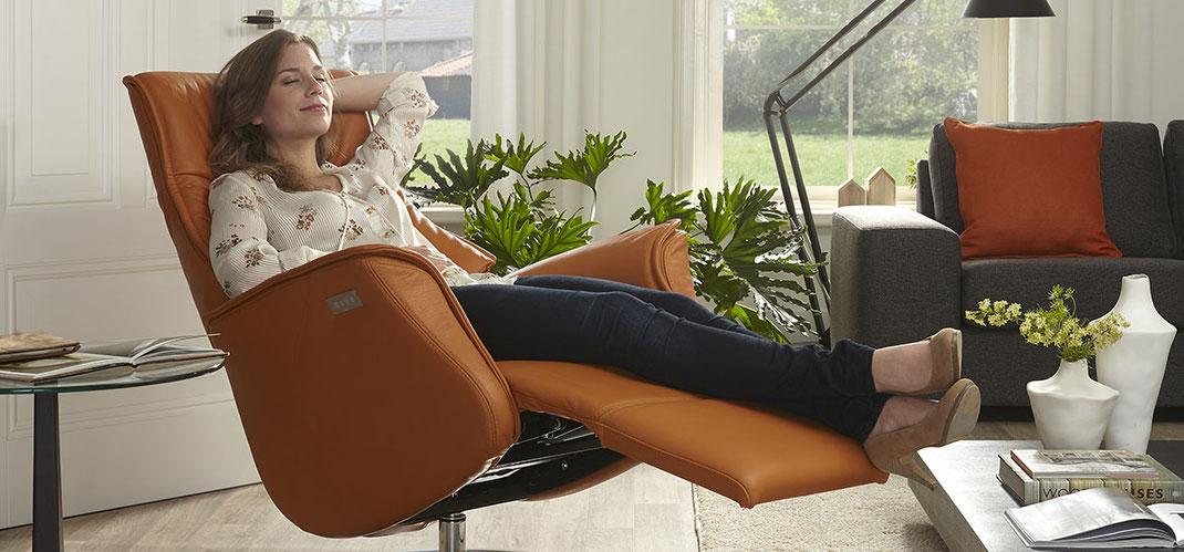 Thuis relaxen in een De Toekomst stoel!