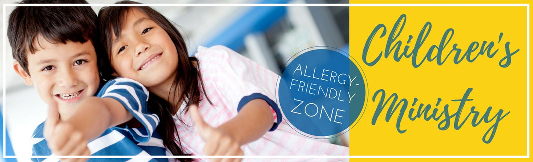 Sunday Children's Ministry Victory Church Omaha Allergy Friendly Zone Birth through 8th Grade