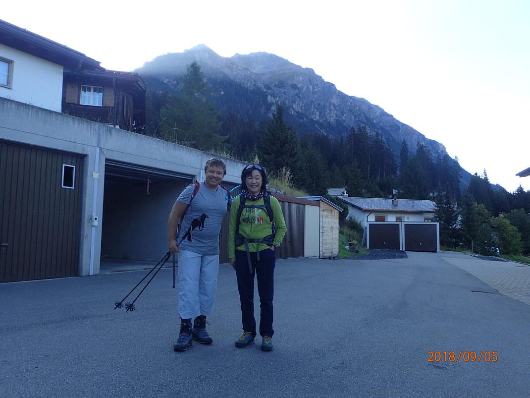 マニュエルとハイキング