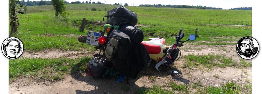 Ein Motorrad Versicherung für die Weltreise / Reise in den meisten Ländern Pflicht!