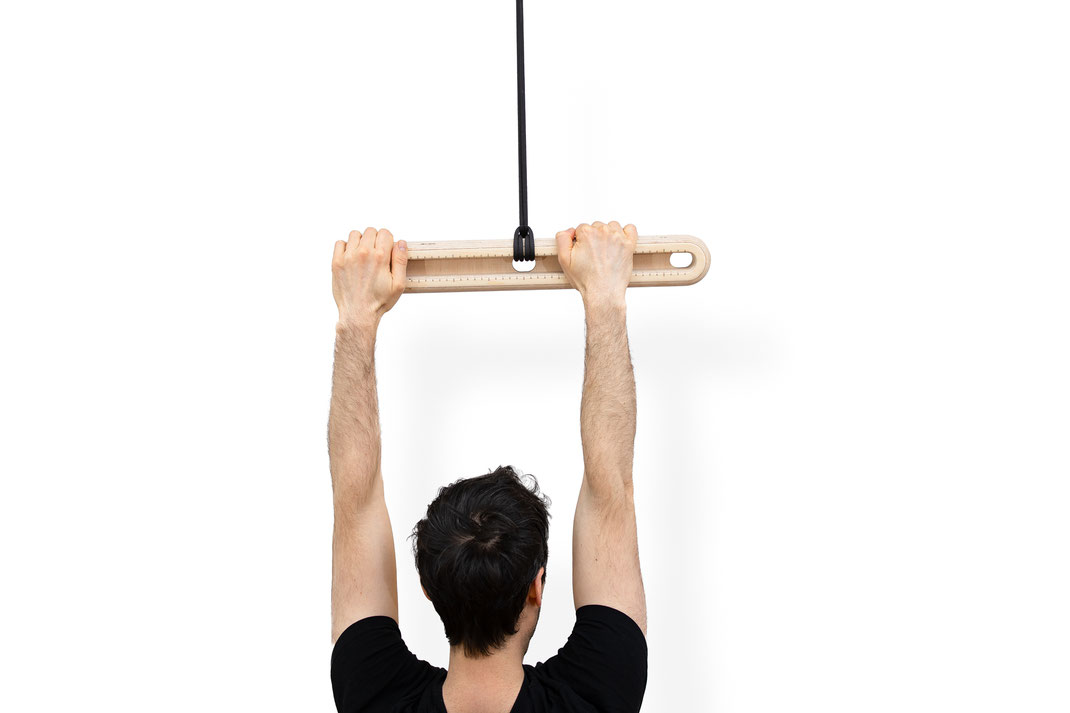 The sample principle can be applied to pull up training