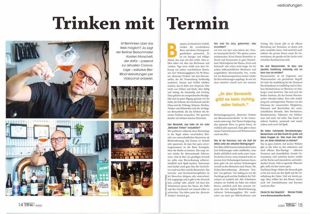 Virtuelles Biertasting - Digitale Bierverkostung - Live Bierevent - Biersommelier.Berlin - Karsten Morschett