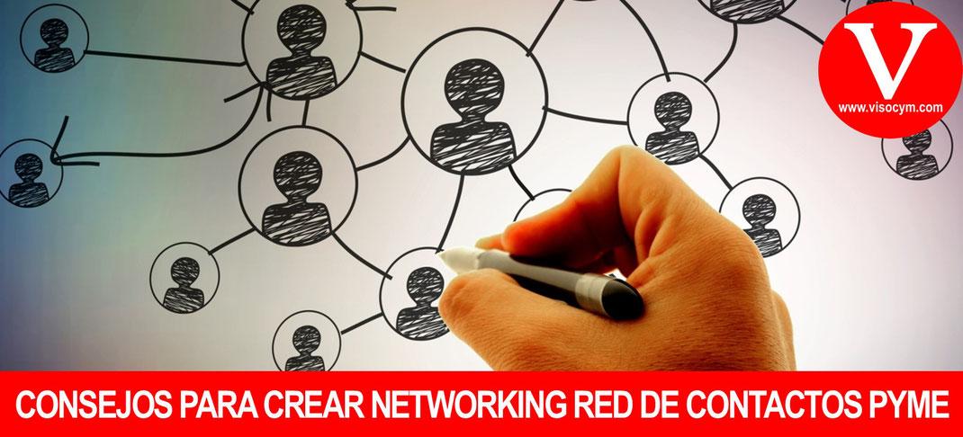 Pasos para crear un networking red de contactos pymes