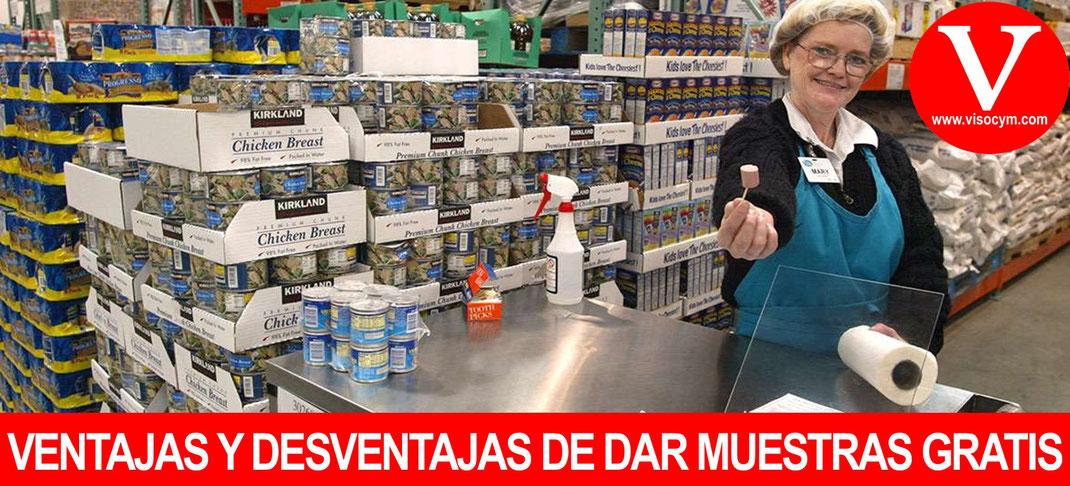VENTAJAS Y DESVENTAJAS DE DAR MUESTRAS GRATIS