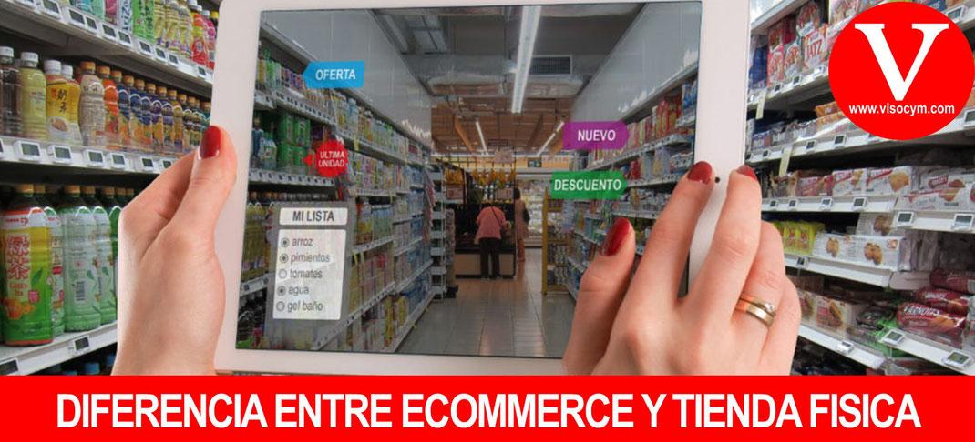 Diferencia entre Ecommerce y comercio tradicional