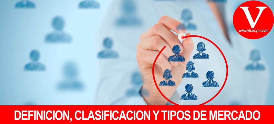 Definición, Clasificación y Tipos de Mercado Marketing