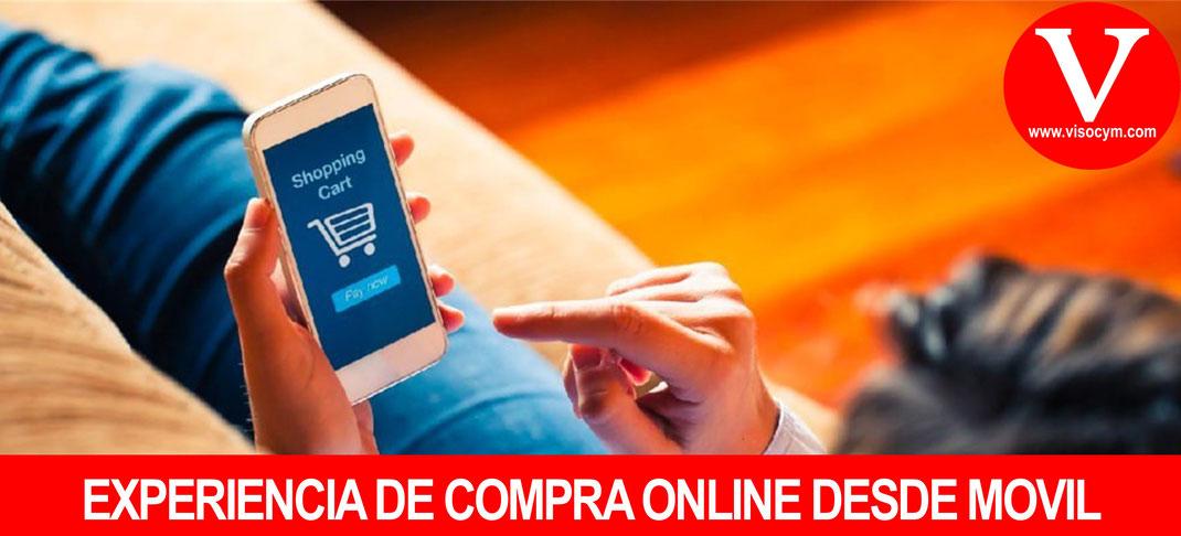 Que busca un cliente al visitar tienda online desde móvil