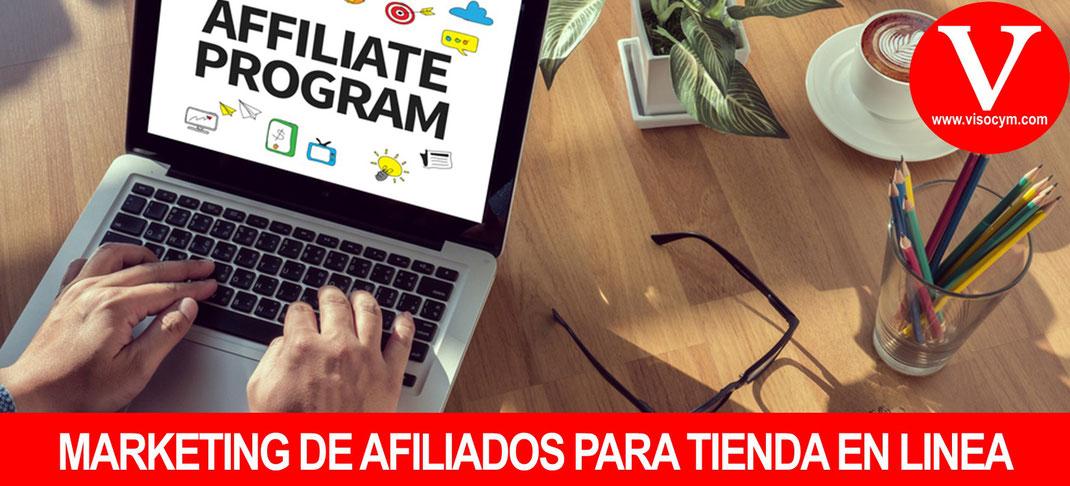 MARKETING DE AFILIADOS PARA TIENDA EN LINEA