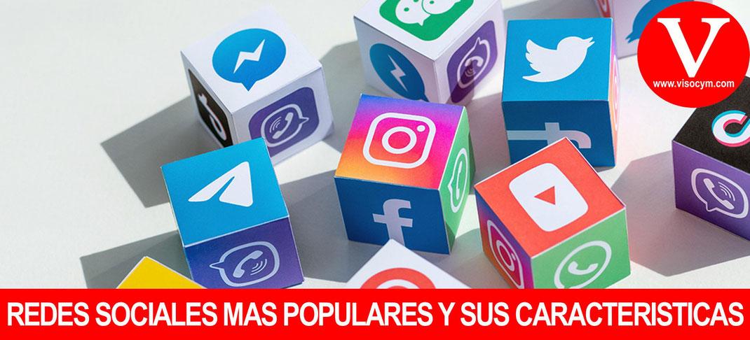Redes sociales mas populares sus características y funciones principales