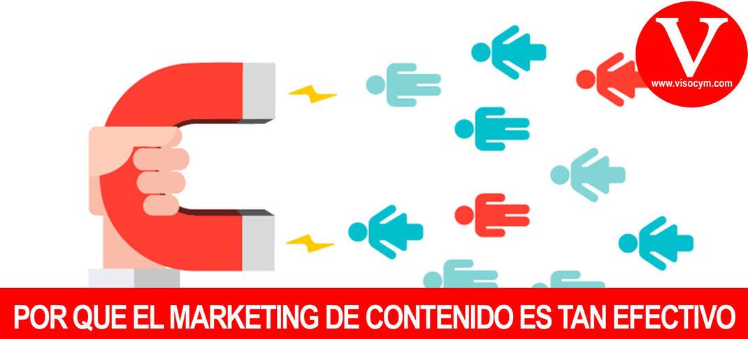 ¿Por qué el marketing de contenido es tan efectivo?