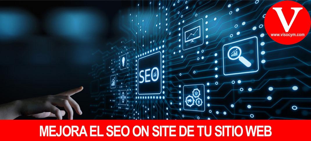 Mejora el SEO on site del sitio web de tu empresa