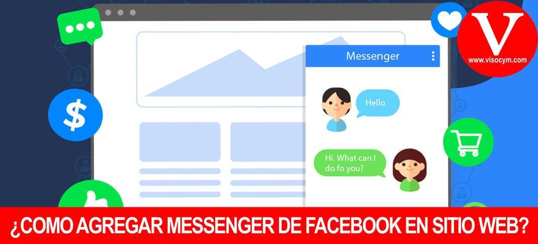 ¿COMO AGREGAR MESSENGER DE FACEBOOK EN SITIO WEB?
