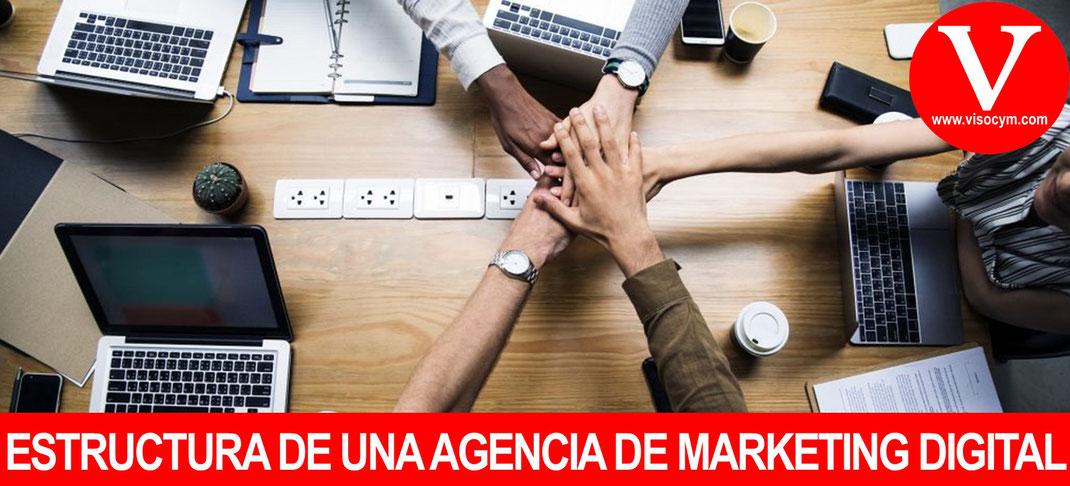Estructura de una Agencia de Marketing Digital y sus funciones