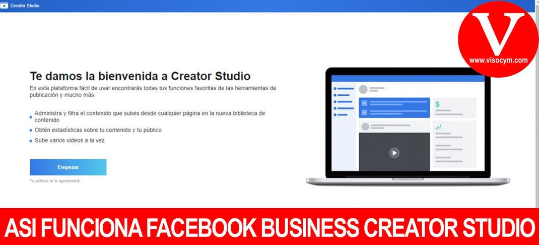 ASI FUNCIONA FACEBOOK BUSINESS CREATOS STUDIO