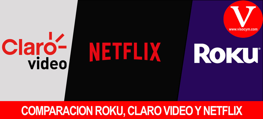 Ventajas claro video, netflix y roku