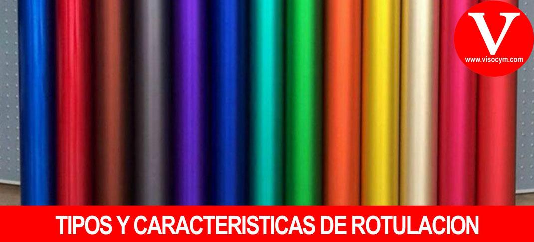 Tipos y Caracteristicas de Rotulacion Interior