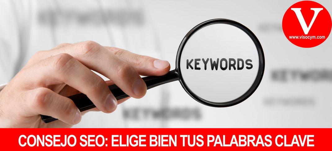 Consejo SEO: Elige bien tus palabras clave
