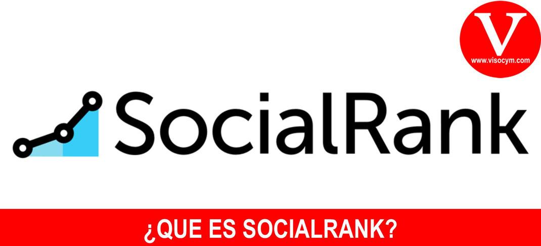 ¿Que es el algoritmo SocialRank?