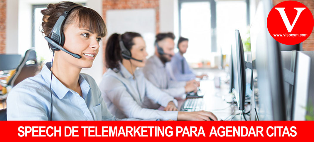 speech de telemarketing para agendar citas