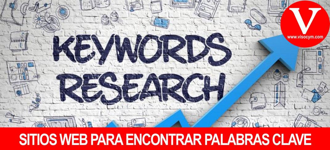 SITIOS WEB PARA ENCONTRAR PALABRAS CLAVE