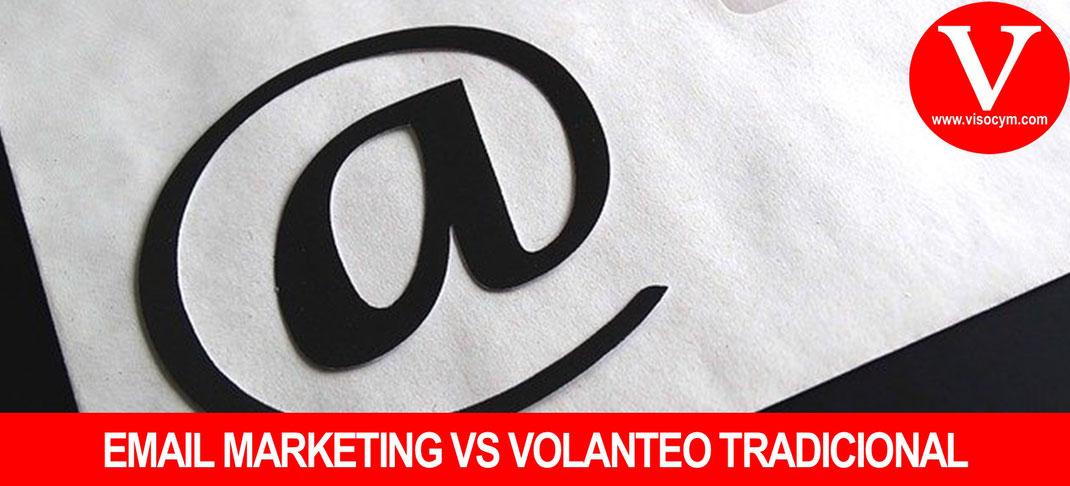 DIFERENCIAS VOLANTEO VS EMAIL MARKETING