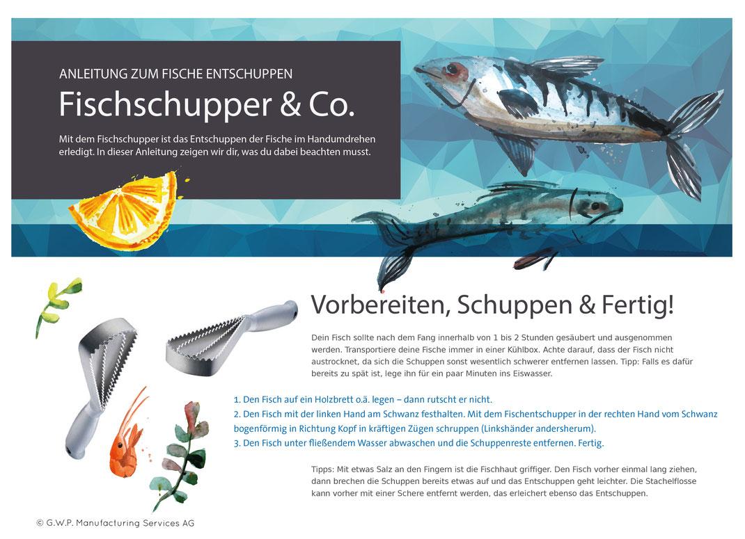 Fisch entschuppen, Angler, Fisch kochen, Fisch zubereiten, Fisch Rezepte, Clip clap