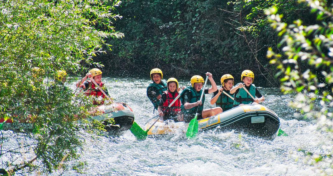 rafting pyrenees