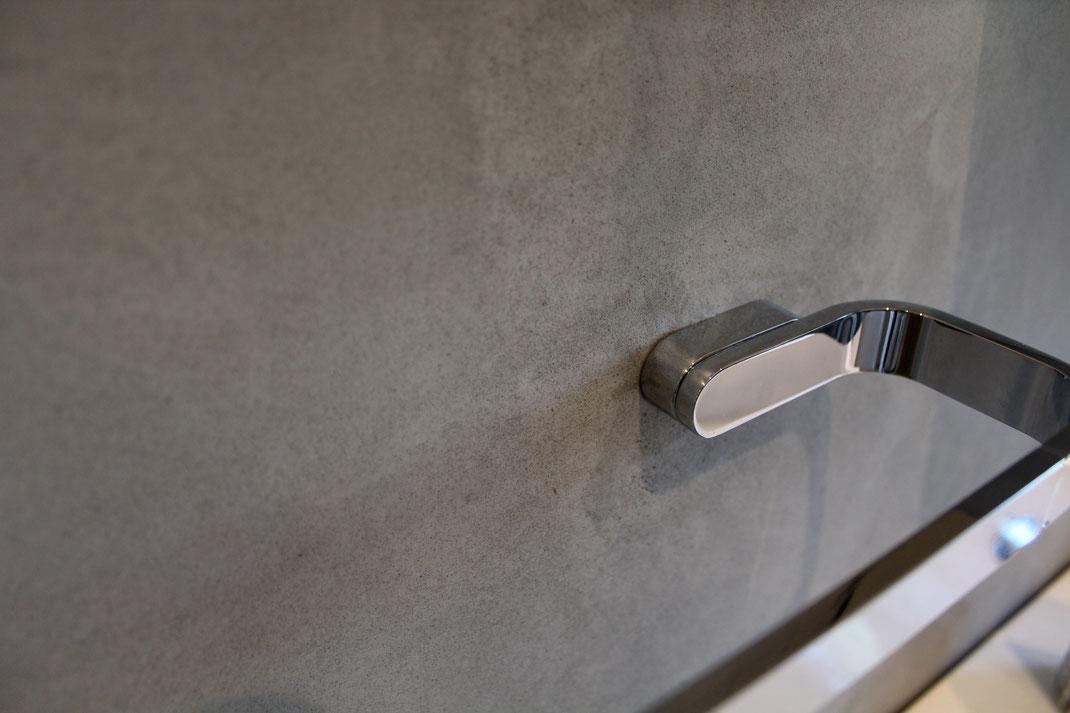 Beton Ciré Wände - Beton Cire Original - Boden, Wände, Badezimmer ...