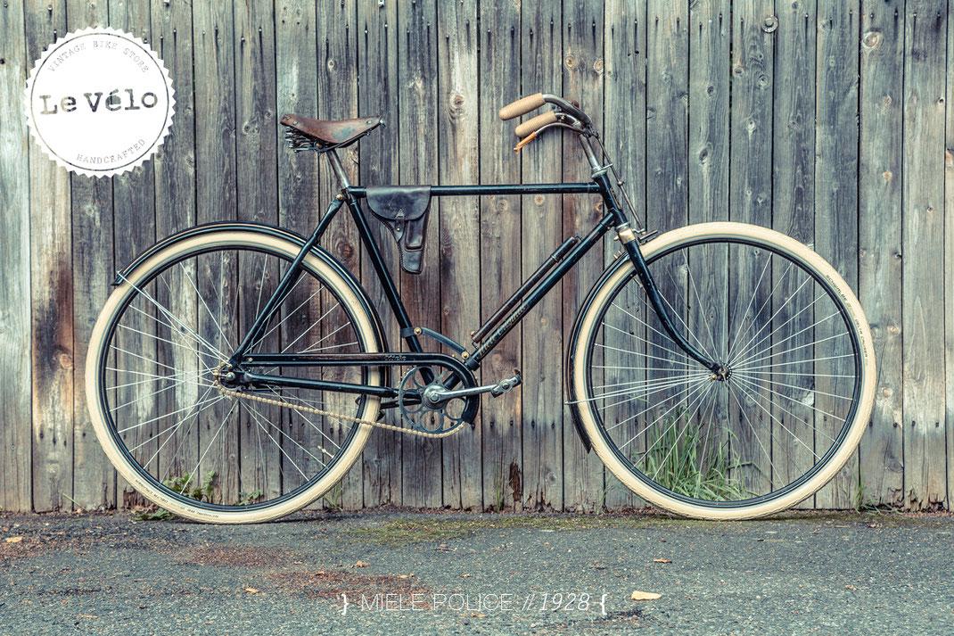 Miele Police Vintage-Bike von Le Vélo