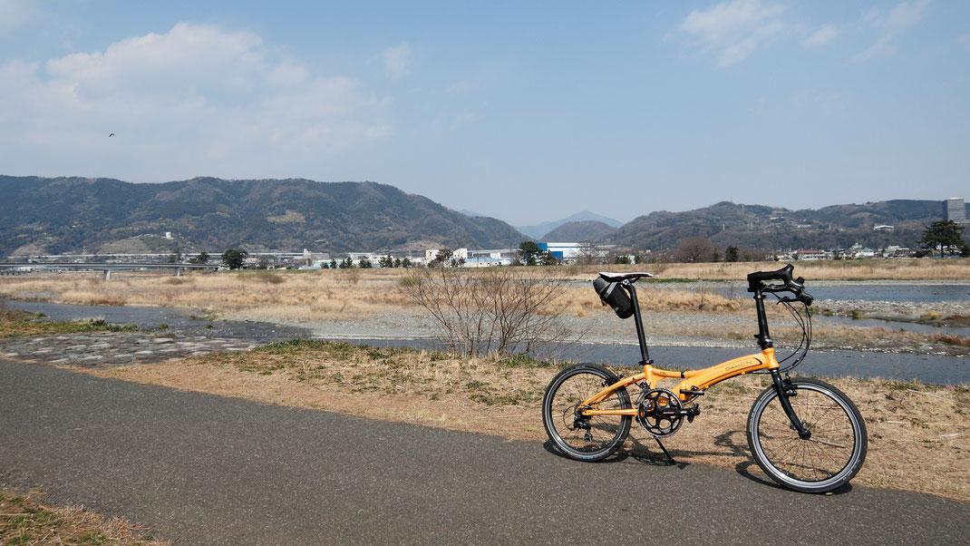 ポタリングコース案内ー酒匂川青少年サイクリングロード