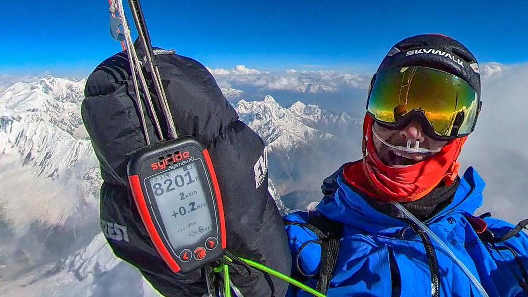 Record du monde d'altitude au Pakistan par François Ragolski