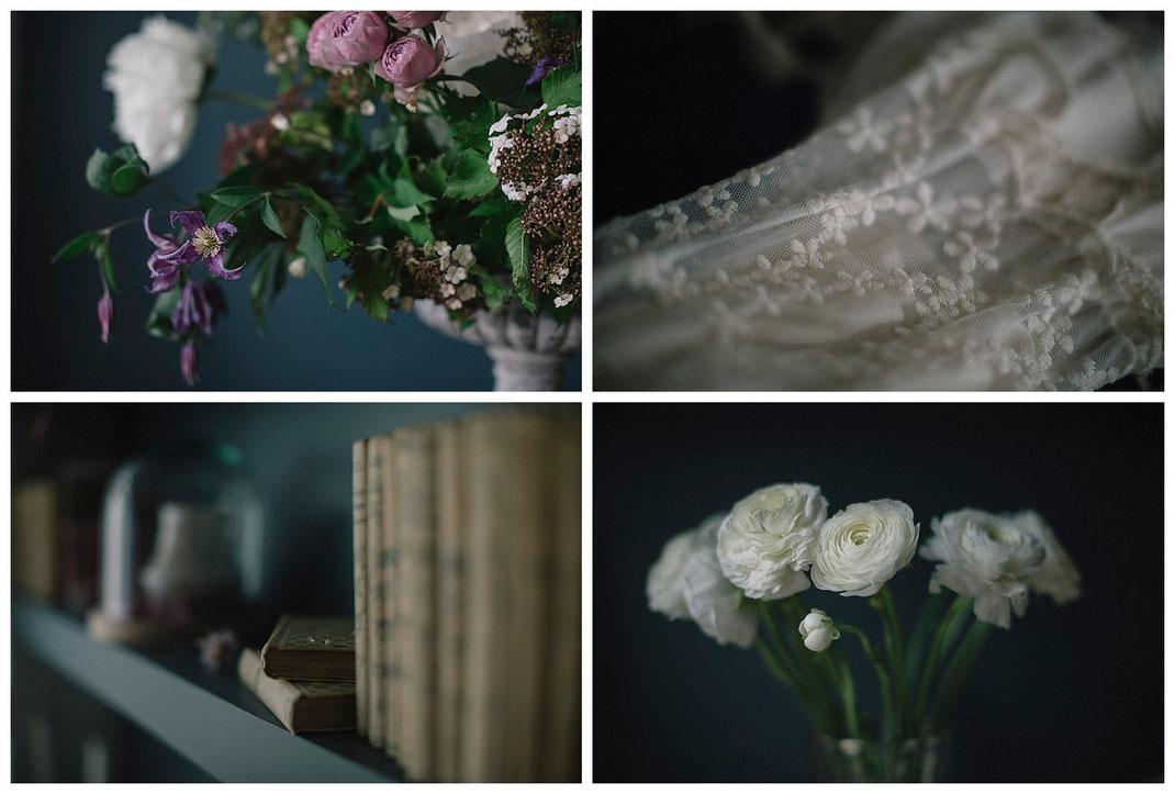 Portrait photographe Yvelines fleuriste Laure
